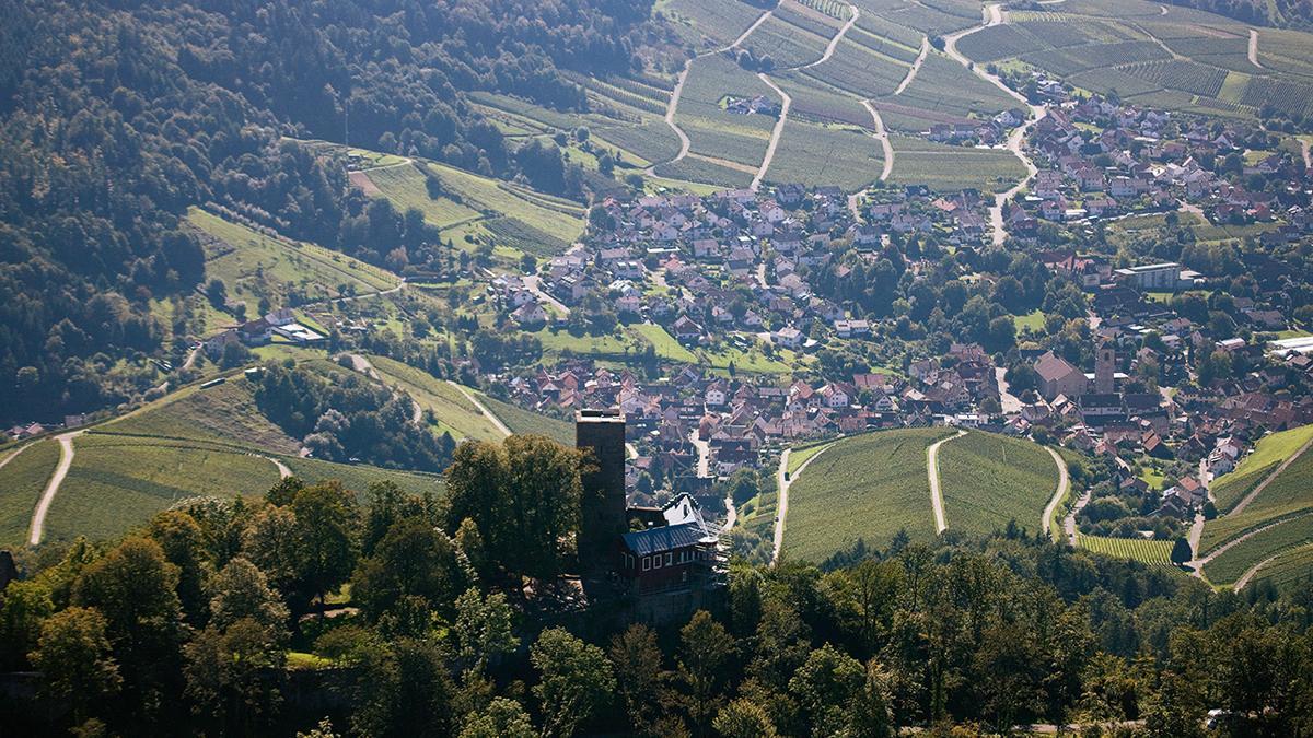 Yburg Castle; photo: Staatliche Schlösser und Gärten Baden-Württemberg, Achim Mende