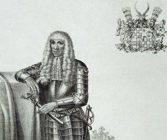 Bildnis des Markgrafen Eduard Fortunat von Baden-Baden; Foto: Staatliche Schlösser und Gärten Baden-Württemberg, Arnim Weischer