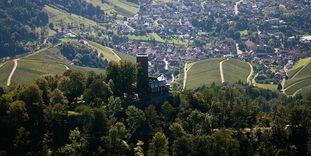 Ausblick von der Yburg
