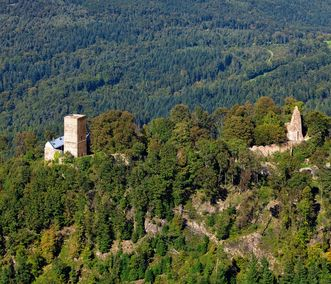 Château d'Yburg à Baden-Baden