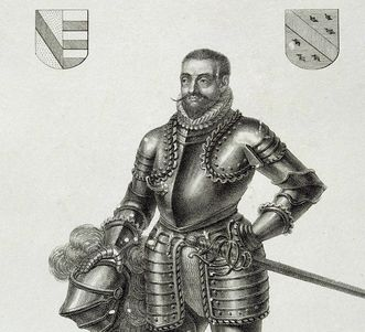 Bildnis von Christoph II. von Baden-Rodemachern