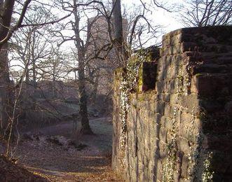 Mauern der Yburg
