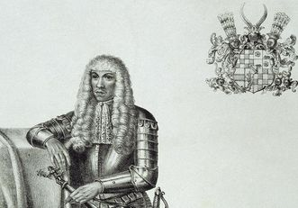 Porträt des Markgrafen Eduard Fortunat von Baden-Baden